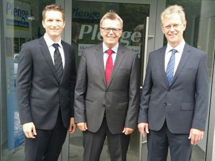 New Employee at Plenge GmbH: Nicholas Visser-Plenge