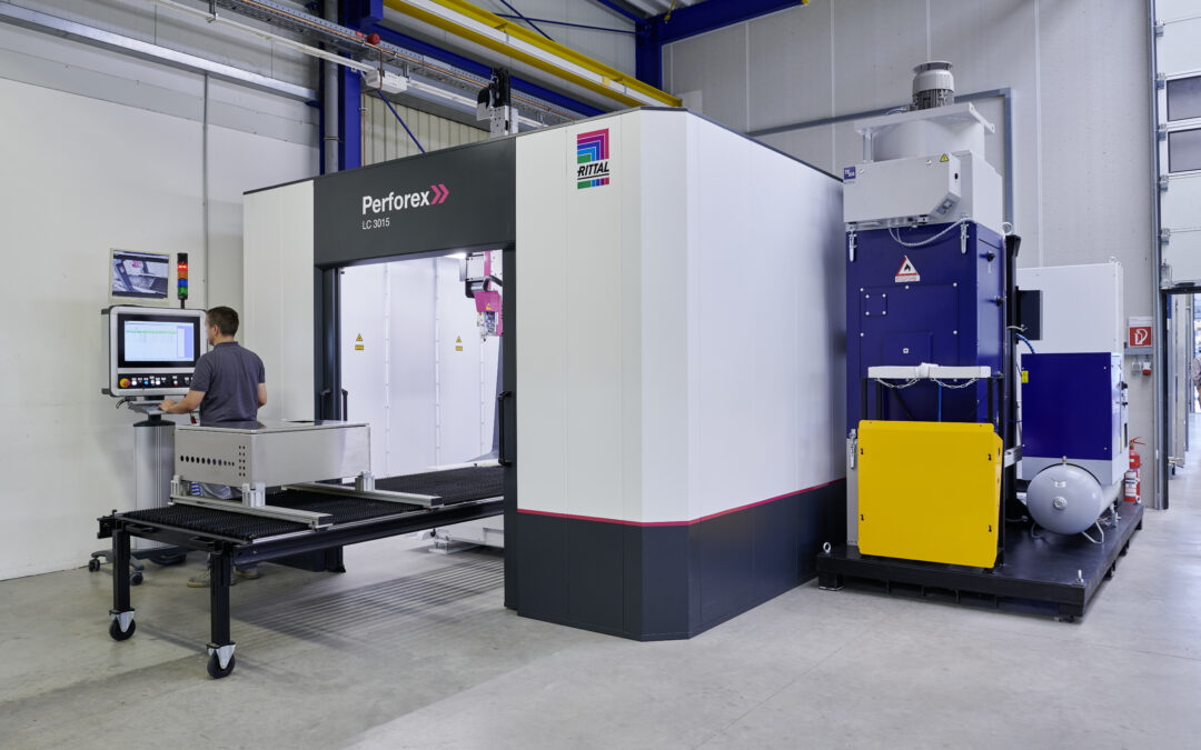 Investition in Lasermaschine